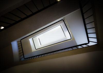 Entryway in a building